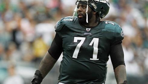 Eagles left tackle Jason Peters suffered lower back spasms against Carolina on Oct. 25.