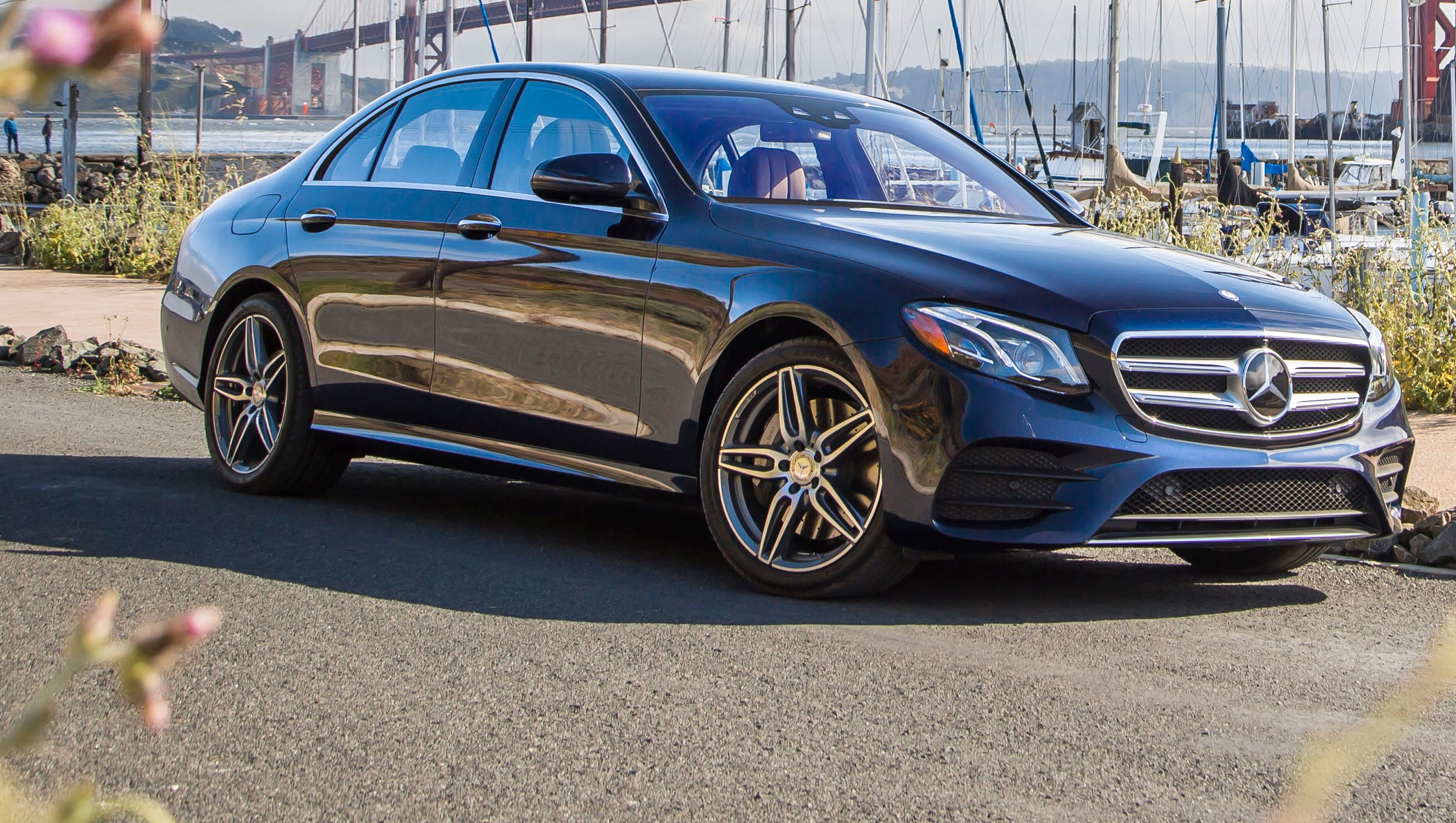 Review new mercedes benz e class is bank vault solid for Mercedes benz usa jobs