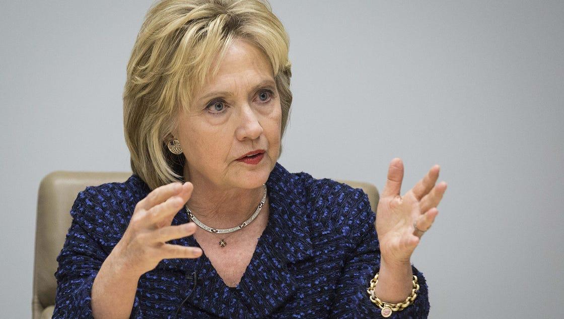 Live Video Hillary Clinton Meets Editorial Board