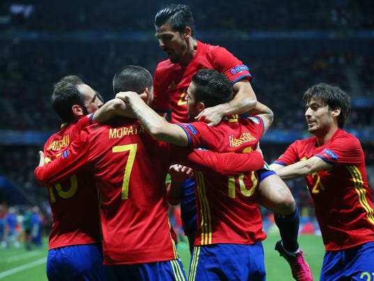 Spain v Turkey - Group D: UEFA Euro 2016