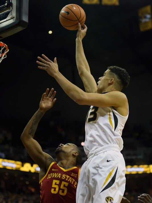 NCAA Basketball: Iowa State at Missouri