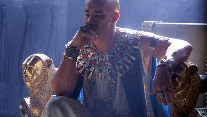 """This image released by 20th Century Fox shows Joel Edgerton in a scene from """"Exodus: Gods and Kings."""" (AP Photo/20th Century Fox, Kerry Brown)"""