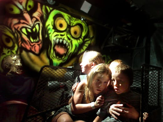 Haunted houses abound around Nashville. Find one that's right for you and your friends.
