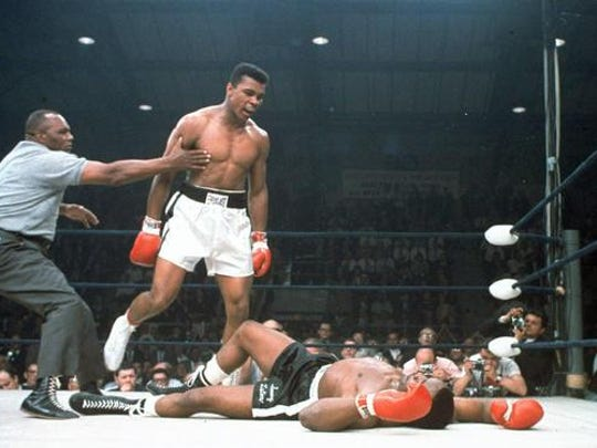 Muhammad Ali,Sony Liston