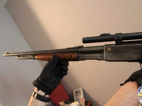 Keizer Police Department found four long guns, two
