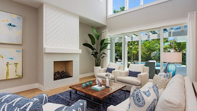 Clive Daniel completed the installation of furnishings for a custom home developed by Goodier Properties at 577 Starboard Drive in The Moorings priced at $3.695 million, fully furnished.