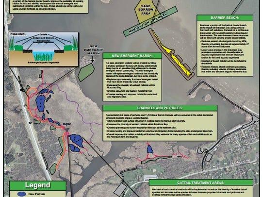 The U.S. Army Corps of Engineers Braddock Bay Ecosystem