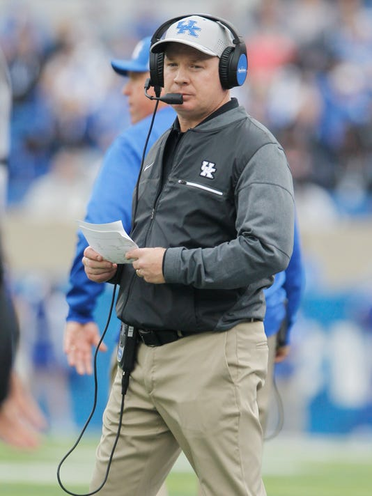 NCAA Football: Mississippi at Kentucky
