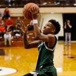 Purdue basketball 2019 commit Isaiah Thompson back in action at Boilermaker team camp