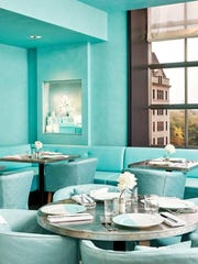 The Blue Box Café at Tiffany & Co.'s flagship New York