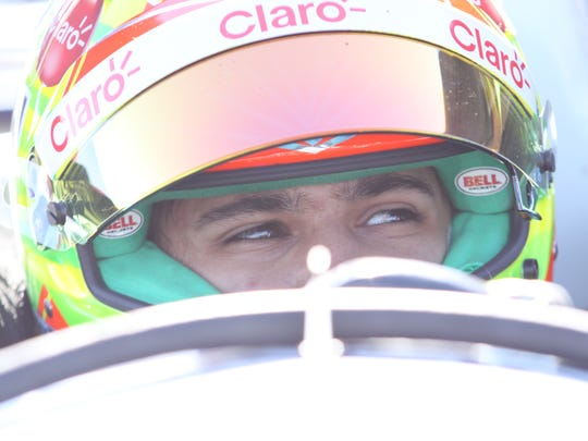 Pietro Fittipaldi gets ready to hit the track during