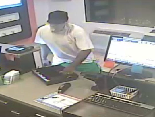 Police are investigating a robbery at a Fairview Township