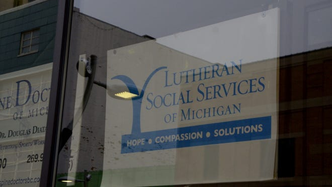 Lutheran Social Services of Michigan at 2 W. Michigan Ave. in Battle Creek.