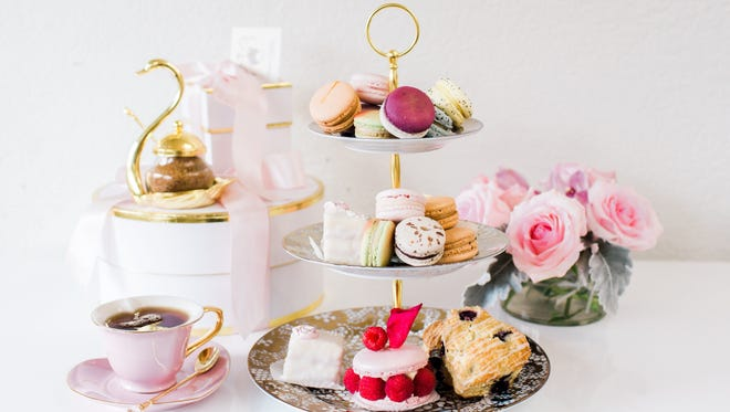 In addition to French macarons, House of Pastel in downtown Melbourne also offers traditional high tea.