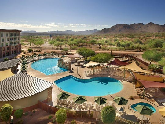 We-Ko-Pa Resort & Conference Center is located within the Fort McDowell Yavapai Nation.