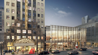 Milwaukee Symphony Orchestra has raised its fundraising goal for the development of its future concert hall on West Wisconsin Avenue.