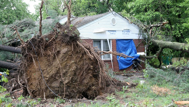 Aftermath of devastating storm: 'a lovely look at human kindness'