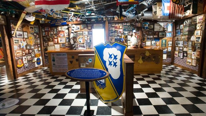 The T.T. Wentworth, Jr. Florida State Museum has a new exhibit featuring Trader Jon's. The exhibit, a recreation of the Pensacola landmark bar features hundreds of items from the historic bar.