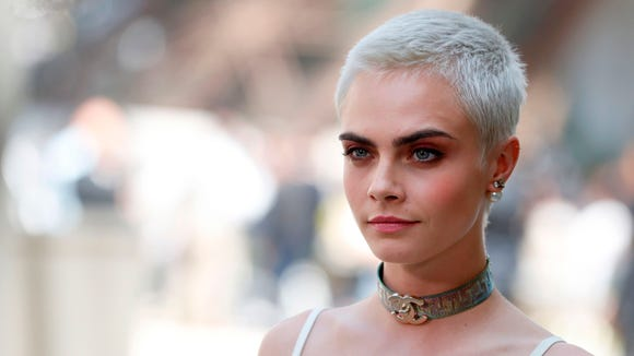 Blond Buzz Cara Delevingne Katy Perry Rock Short Icy Cuts