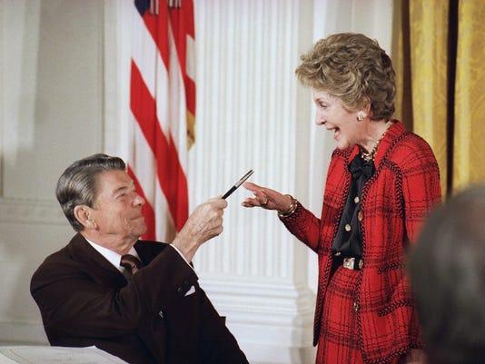 Ronald Reagan, Nancy Reagan