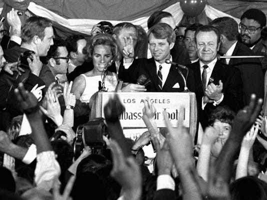AP AP WAS THERE RFK ASSASSINATION A FILE USA CA