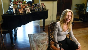 """Glen Campbell's wife, Kim, aims to encourage other caregivers. """"I want to let people know that there's hope out there, there's help out there, they don't have to do this alone,"""" she says. """"They can't do it alone. It will take you down."""""""