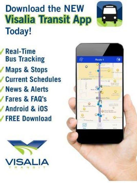 Visalia bus app