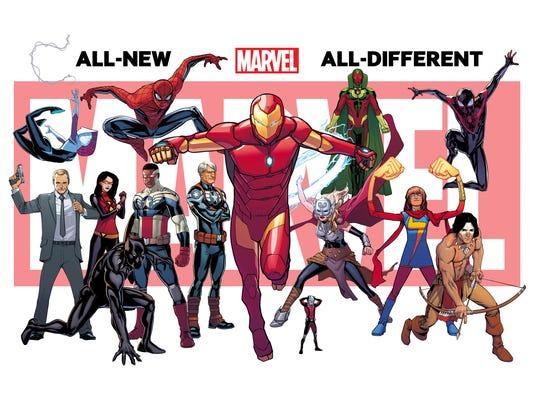 Marvel relaunch