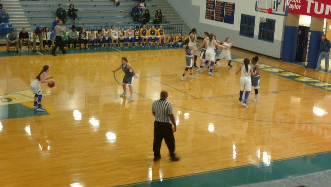 Westview and Chester County played in the Martin Lions Club Christmas Tournament on Wednesday.