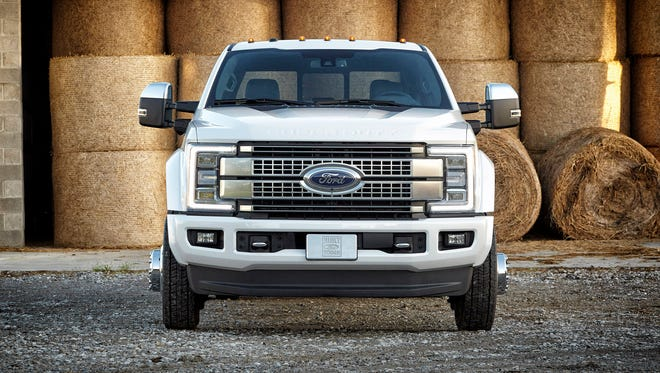 The 2017 Ford Super Duty lineup will be shown Thursday, Sept. 24, 2015 at the State Fair of Texas.