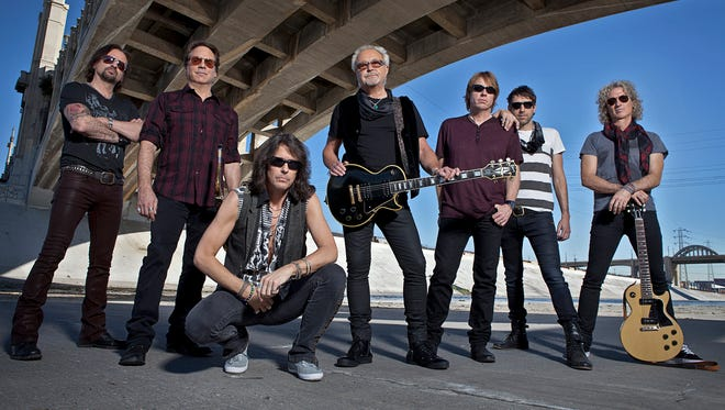 Foreigner is bringing its 40th anniversary tour to Montgomery on Feb. 19, 2017, at the Montgomery Performing Arts Centre.