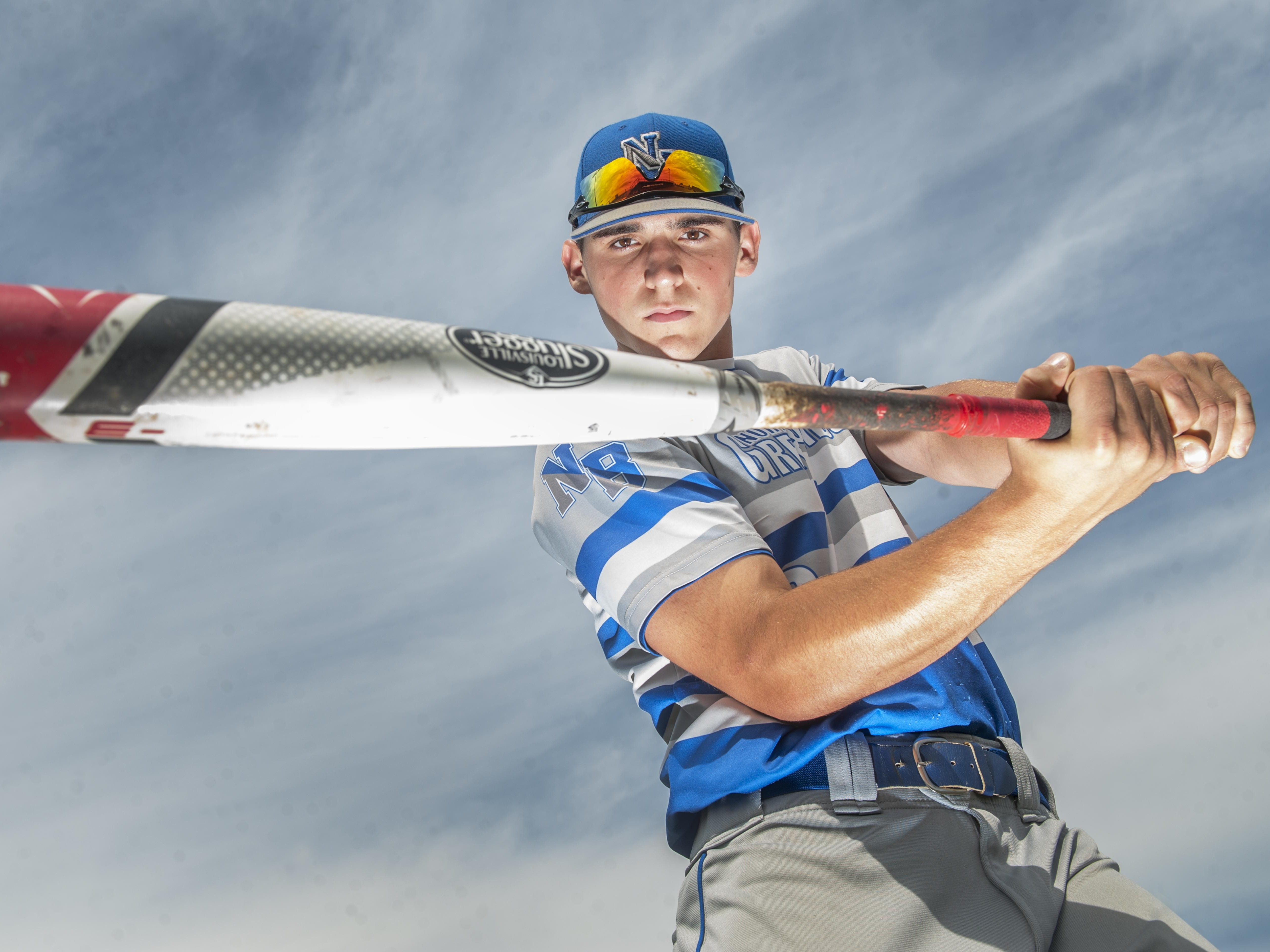 Baseball Player of the Year - Ryan Shinn of Northern Burlington High School. 06.17.15