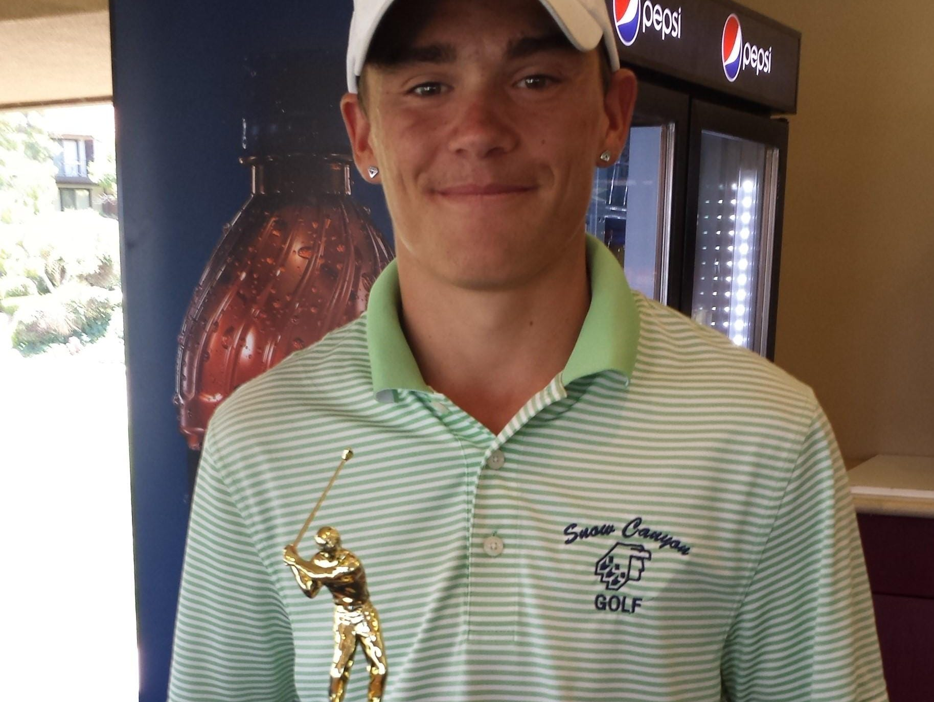 Snow Canyon's Brodey Payzant took home top honors after shooting 2-under par at Southgate Golf Club on Tuesday.