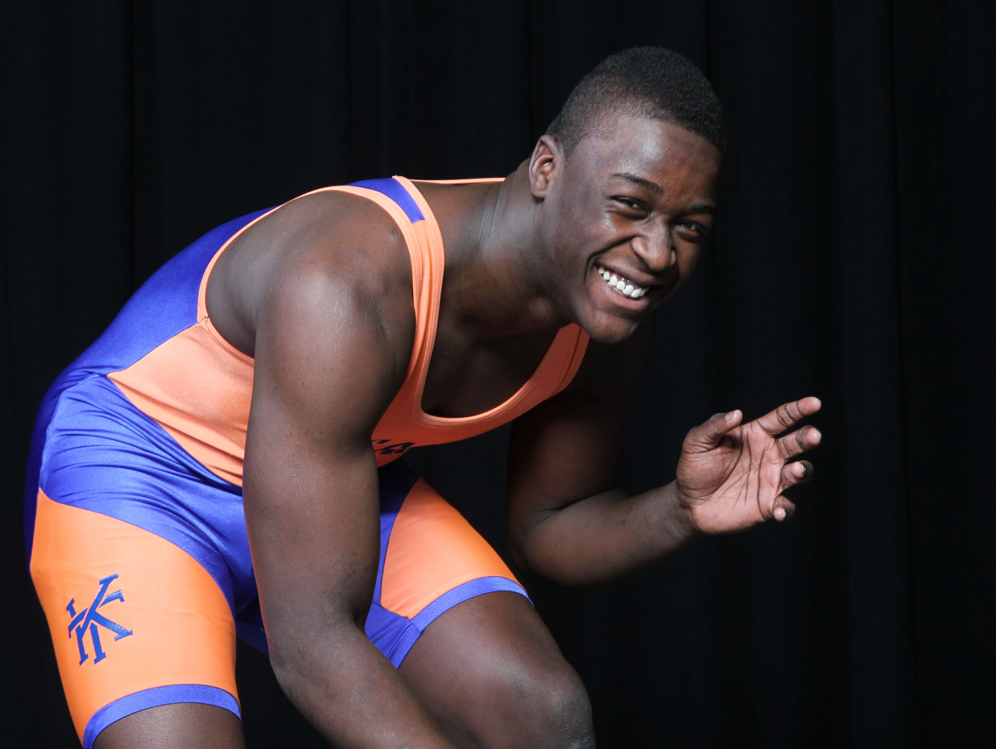 Wrestler of the Year Tyree Sutton of Keansburg.