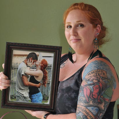 RaiAnne Sancho of Palm Bay was 21 when her husband,
