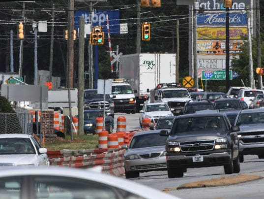 Woodruff Road construction in Greenville