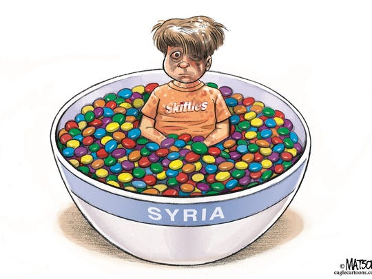 Syria and Skittles