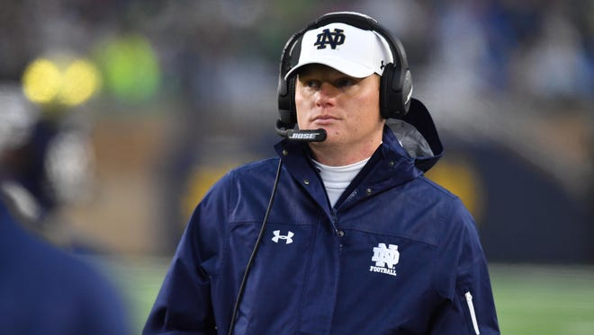 Notre Dame offensive coordinator Chip Long wanted a 'run-to-win' mentality. He's got it.
