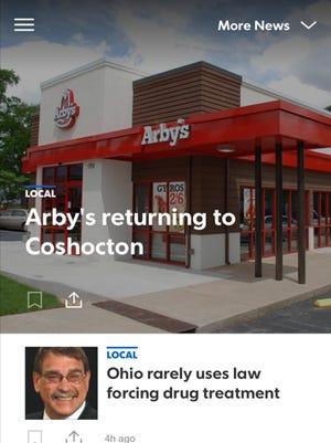 The Tribune's new app