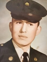 Robstown resident Amador Duran at 21 years old in 1968. He joined the Army and served in Vietnam until 1970.