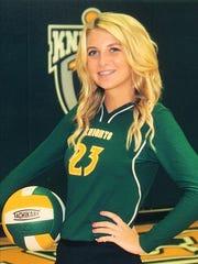 Morgan Benjamin, Northeastern volleyball