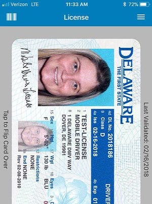 The Delaware Division of Motor Vehicles has launched a mobile driver's license pilot study that will run for six months. The pilot study will include approximately 200 state employees and stakeholders.