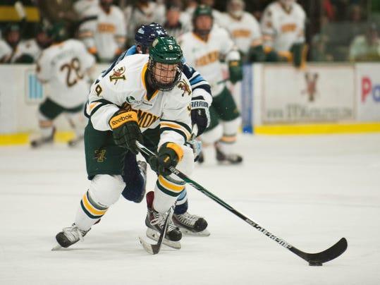 Maine vs. Vermont Men's hockey 11/07/14