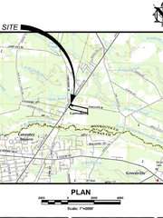 This is the location of the proposed solid waste transfer