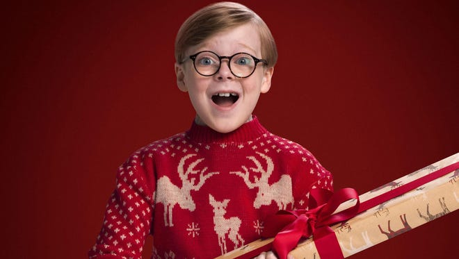 "Andy Walken starred as Ralphie Parker in Fox's live musical, ""A Christmas Story Live!"""