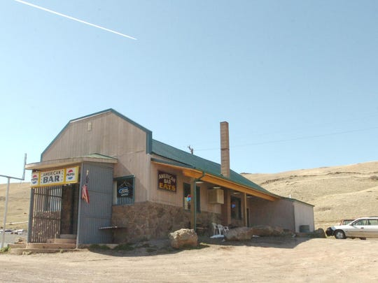 The American Bar was built in 1915 in Stockett, during the heart of the area's coal mining era.