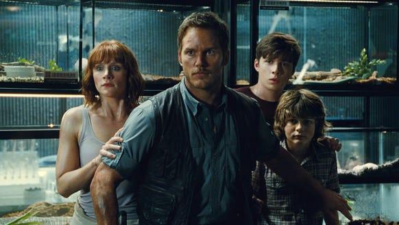 Bryce Dallas Howard and Chris Pratt return for 'Jurassic