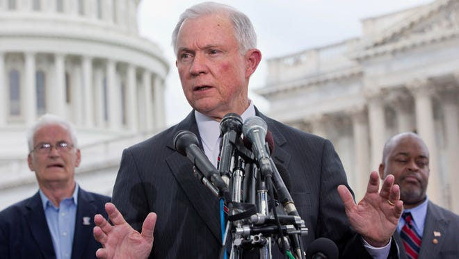 Sen. Jeff Sessions, R-Ala., held a hearing Thursday examining the security threats raised by the U.S. admitting up to 10,000 Syrian refugees.