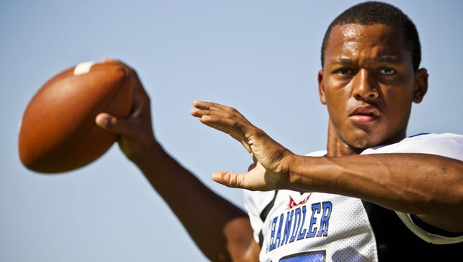 Chandler alum Brett Hundley is being groomed as Aaron Rodgers' heir apparent with the Green Bay Packers.