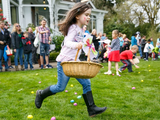Deepwood Easter Eggstravaganza: A family favorite event with with the Easter Bunny, crafts, gamesand egg hunts according to age group. Pre-registration is required, 1 to 3 p.m. April 20, Deepwood Museum & Gardens, 1116 Mission St. SE.$5 per child, $1 per adult. deepwoodmuseum.org/event-calendar/event/434/2019-04-20.503-363-1825.